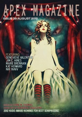 cover for Apex Magazine #39