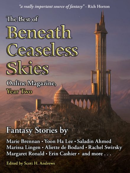 cover art for The Best of Beneath Ceaseless Skies, Year Two