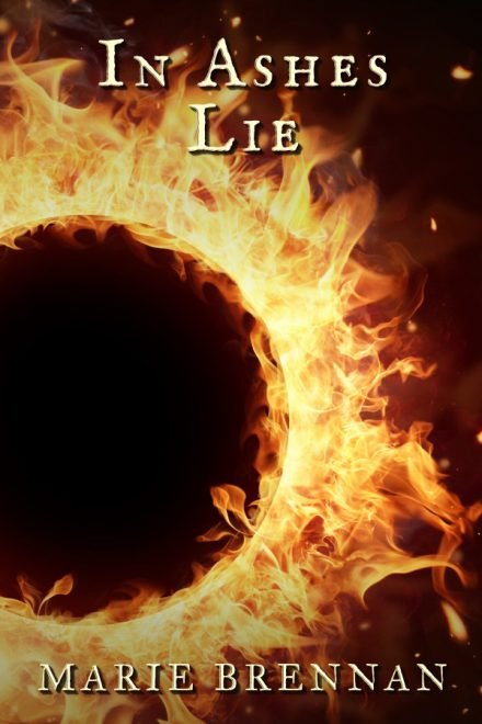 Ebook cover for IN ASHES LIE