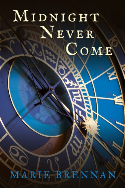 Ebook cover for MIDNIGHT NEVER COME