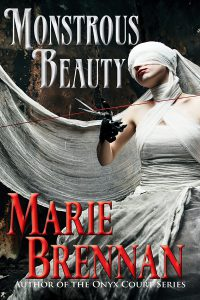 cover for MONSTROUS BEAUTY