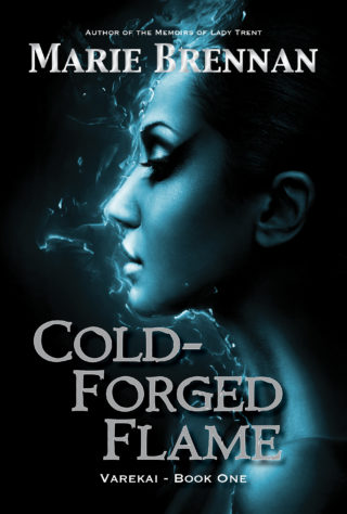 cover for COLD-FORGED FLAME by Marie Brennan