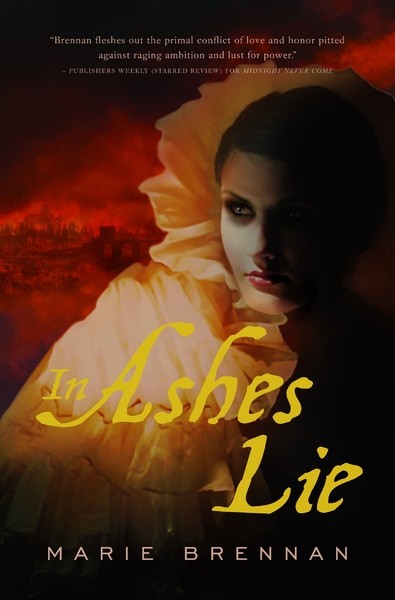 Original cover for IN ASHES LIE