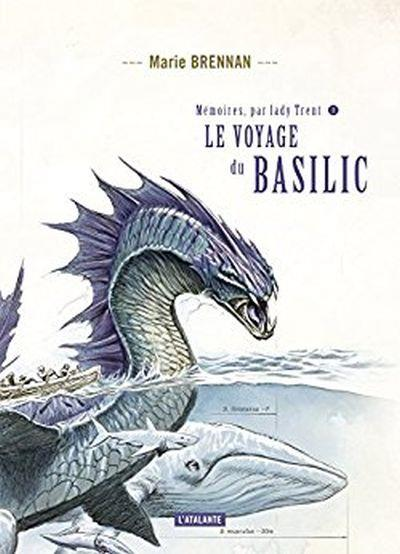 French cover for VOYAGE OF THE BASILISK (Le voyage du basilic)