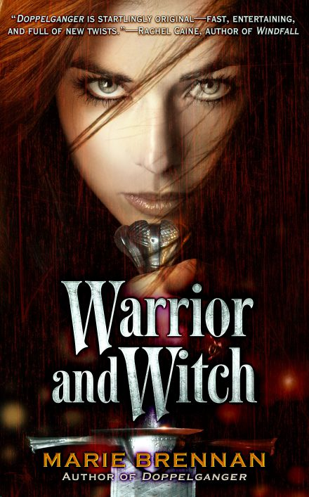 Original cover for Warrior and Witch