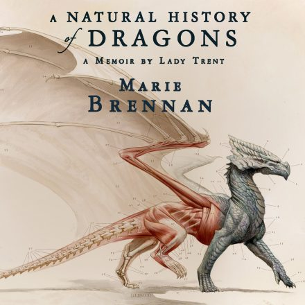 Audiobook cover for A NATURAL HISTORY OF DRAGONS