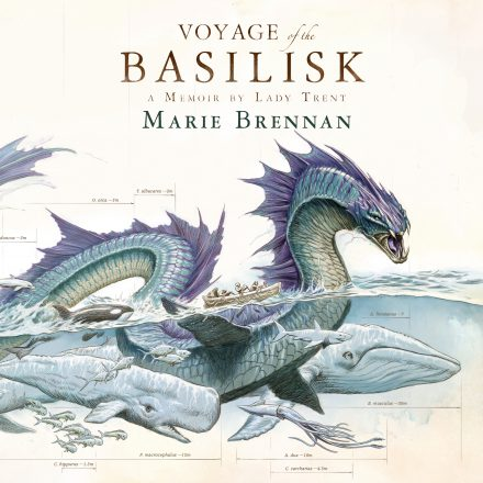 Audiobook cover for VOYAGE OF THE BASILISK