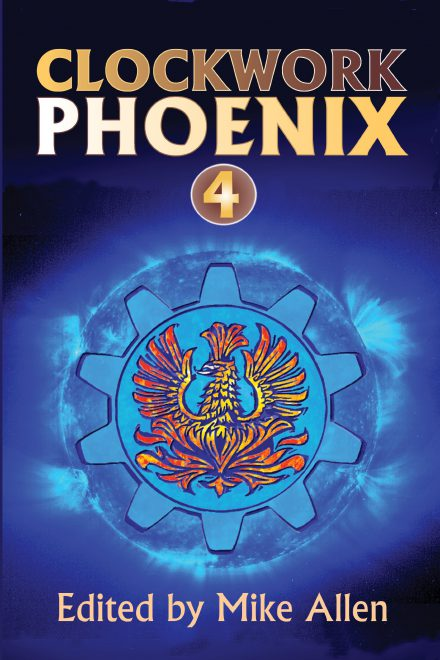 cover for Clockwork Phoenix 4
