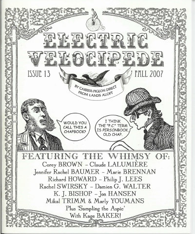 cover for Electric Velocipede #13