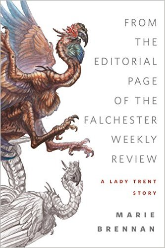 "cover for ""From the Editorial Page of the Falchester Weekly Review"""