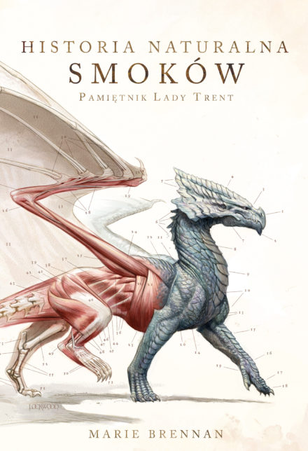 Polish cover for A Natural History of Dragons