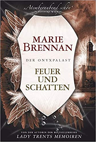 cover for the German edition of IN ASHES LIE by Marie Brennan