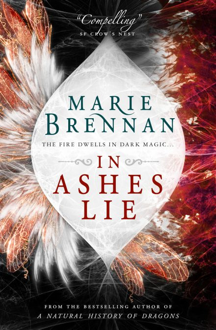 UK reissue cover for IN ASHES LIE