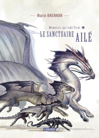 French cover for WITHIN THE SANCTUARY OF WINGS
