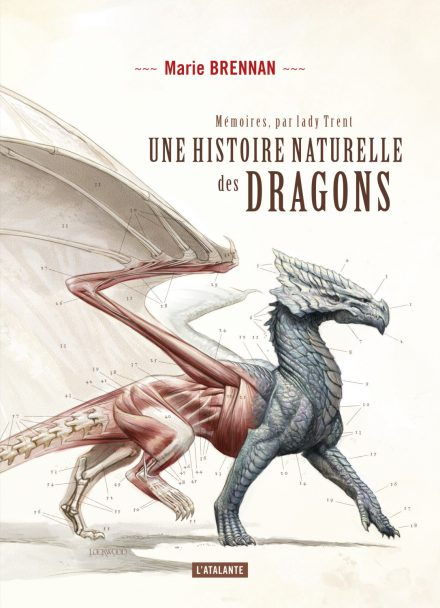 French cover for A NATURAL HISTORY OF DRAGONS
