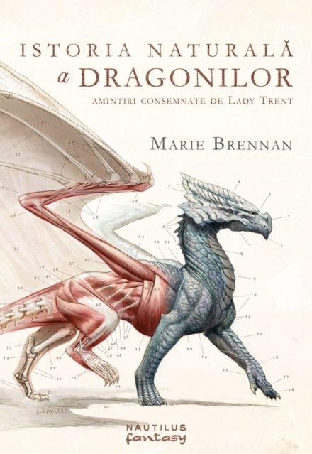 Romanian cover for A NATURAL HISTORY OF DRAGONS