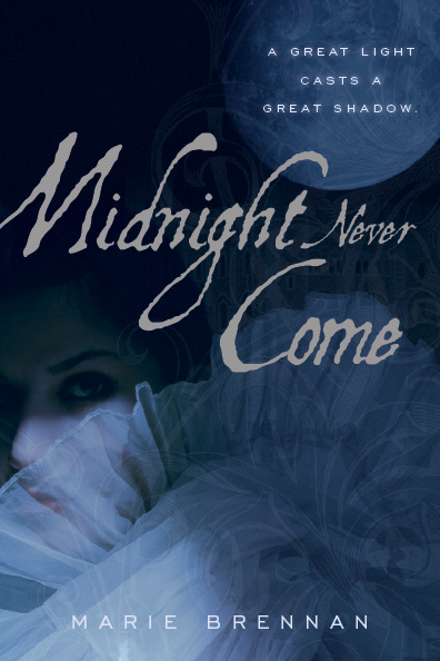 Original cover for MIDNIGHT NEVER COME