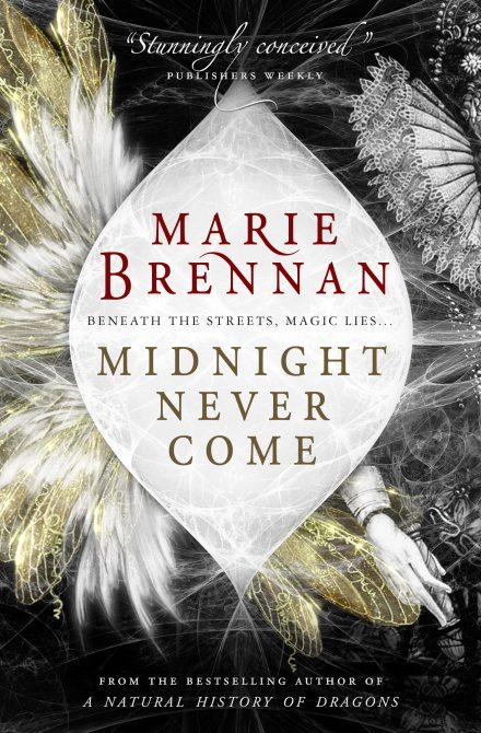 UK reissue cover for MIDNIGHT NEVER COME