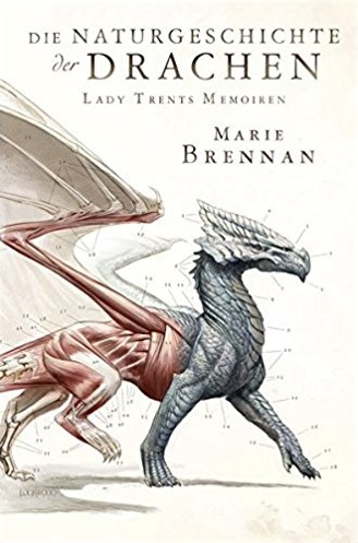 German cover for A NATURAL HISTORY OF DRAGONS