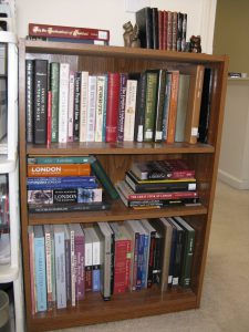 Research bookshelf for WITH FATE CONSPIRE