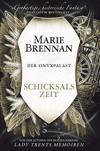 cover for the German edition of WITH FATE CONSPIRE by Marie Brennan
