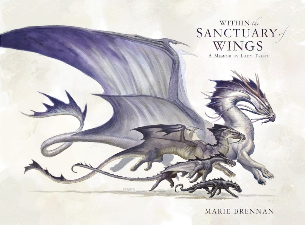 Wraparound cover for WITHIN THE SANCTUARY OF WINGS