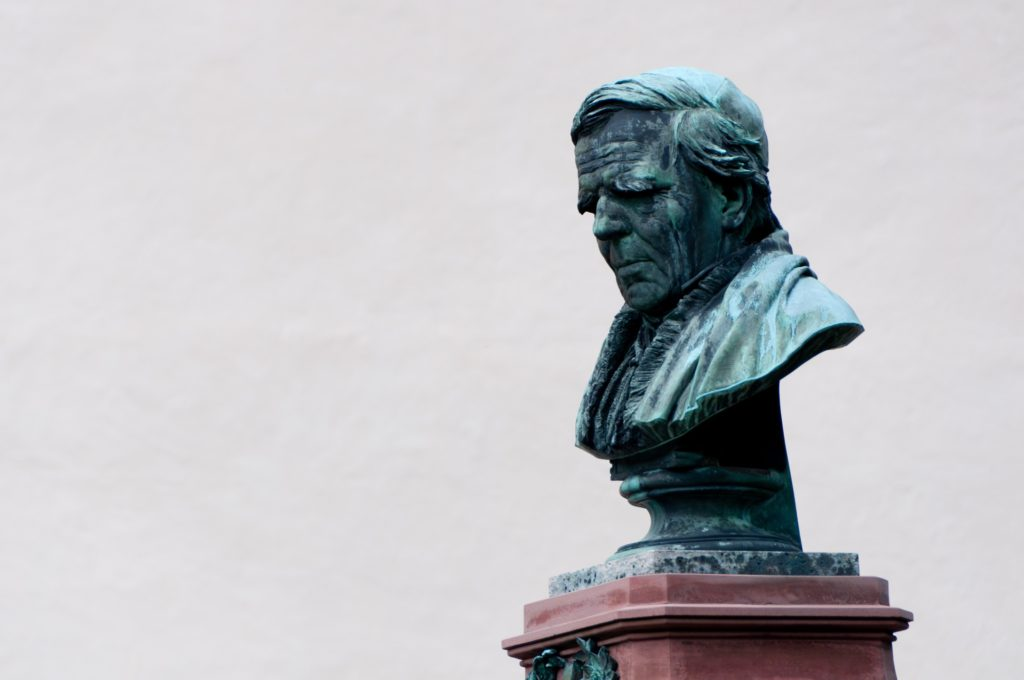 unidentified bust in Oberammergau