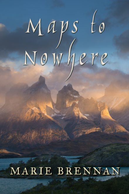 cover art for MAPS TO NOWHERE by Marie Brennan