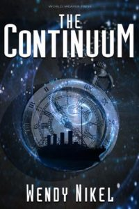 cover art for THE CONTINUUM by Wendy Nikel