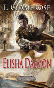 cover art for ELISHA DAEMON by E.C. Ambrose