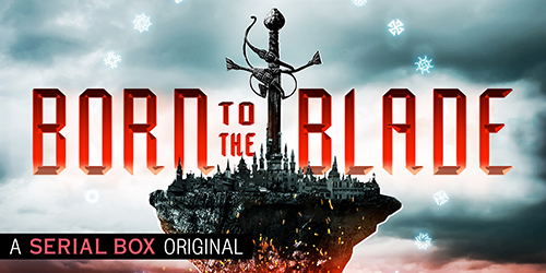 BORN TO THE BLADE horizontal banner