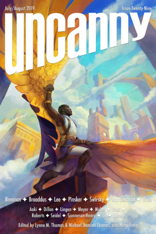 cover art for Uncanny Magazine issue #29