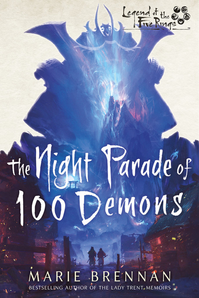 cover art for THE NIGHT PARADE OF 100 DEMONS by Marie Brennan