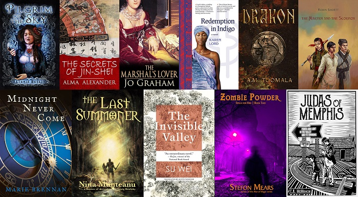a cover collage for the History with Magic StoryBundle